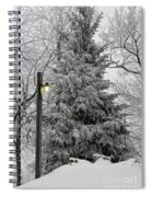 A Light Snow Spiral Notebook