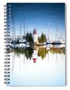 A Lighthouse Spiral Notebook