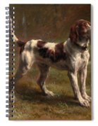 A Limier Briquet Hound Spiral Notebook