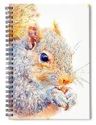 A Little Bit Squirrely Spiral Notebook