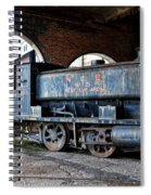 A Locomotive At The Colliery Spiral Notebook