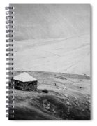 A Lone House Spiral Notebook