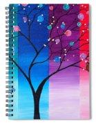 A Lone Owl Spiral Notebook