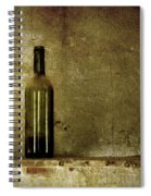 A Lonely Bottle Spiral Notebook