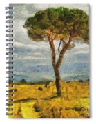A Lonely Pine Spiral Notebook