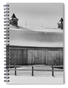 A Long Barn  7k00040b Spiral Notebook