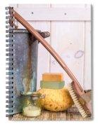 A Long Hot Bath Spiral Notebook