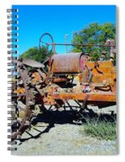 A Long Right Hand Turn  Spiral Notebook