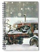 A Long Winter's Nap Spiral Notebook