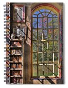A Look From The Library Spiral Notebook