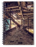 A Look Into The Past. Spiral Notebook