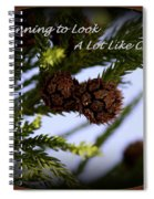 A Lot Like Christmas Spiral Notebook