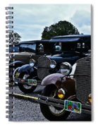 A Lot Of Classic Cars Spiral Notebook
