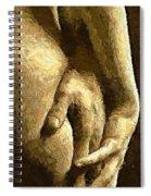 A Love Touch Spiral Notebook
