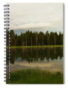 A Lovely Reflection Spiral Notebook
