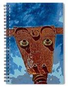 A Lucky Bull Spiral Notebook