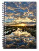 A Magical Marshmallow Sunrise  Spiral Notebook