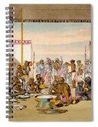 A Mahratta Surdar Entertaining Spiral Notebook