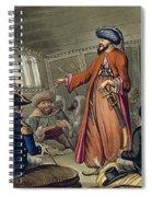 A Mameluke Delivering A Message Spiral Notebook