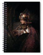 A Man In Armour, 1655 Spiral Notebook