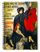A Man May Be Down . . .   1919 Spiral Notebook