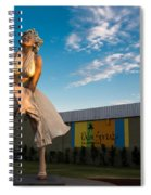 A Marilyn Morning Spiral Notebook