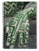 A Maze Ing Hand Spiral Notebook
