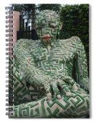 A Maze Ing Man 1 Spiral Notebook