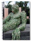 A Maze Ing Man 5 Spiral Notebook