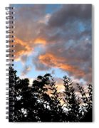 A Memorable Sky Spiral Notebook