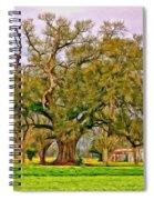 A Mighty Oak - Paint Spiral Notebook