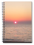 A Minute To Sunset Spiral Notebook
