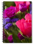 A Mixed Bouquet Spiral Notebook
