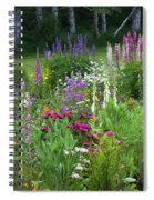 A Mixture Of Flowers Bloom In Hillside Spiral Notebook
