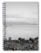 A Moment In Time Herring Season Spiral Notebook