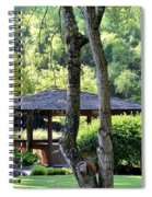 A Moment Of Tranquility Spiral Notebook