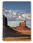 A Monumental Morning  Spiral Notebook