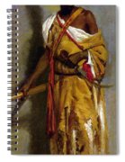 A Moroccan Guard Spiral Notebook