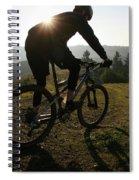 A Mountain Biker Makes His Final Spiral Notebook
