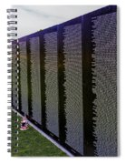 A Moving Wall Spiral Notebook