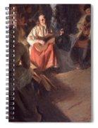 A Musical Family Spiral Notebook