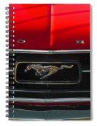 A Mustang  Spiral Notebook