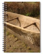 A Native American Fishing Boat Spiral Notebook