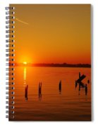 A New Day Dawns... Over Dock Remains Spiral Notebook