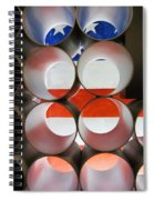 A New Perspective On The American Flag Spiral Notebook