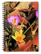 A New Season Blooms Spiral Notebook