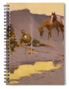 A New Year On The Cimarron  Spiral Notebook