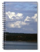 A Nice Day To Be In Washington Spiral Notebook