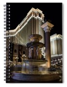 A Night At The Venetian Las Vegas Spiral Notebook