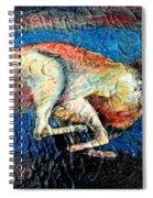 A Night Runner Spiral Notebook